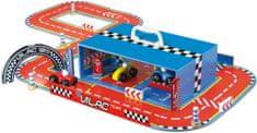 Vilac Tor wyścigowy z samochodami w kuferku