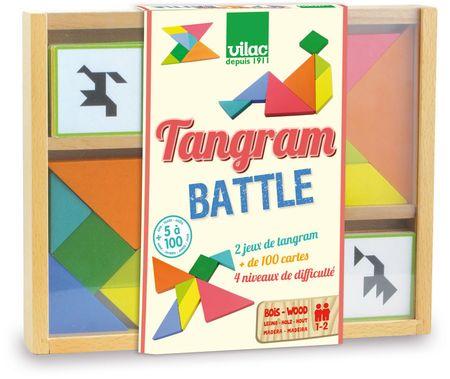 Vilac Drevený tangram