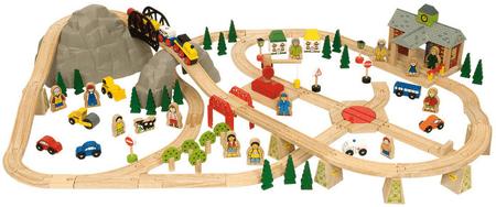 Bigjigs Rail Horská cesta 112 dielov