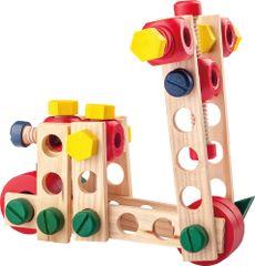 Woody Montažen kompleti za sestavljanje - gradbinec 100 kosov