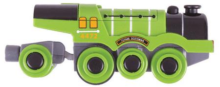 Bigjigs Rail elektryczna lokomotywa Flying Scotsman