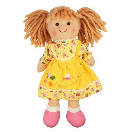 Bigjigs Toys Szmaciana lalka Daisy 25 cm