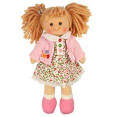 Bigjigs Toys Látková bábika Poppy 25 cm