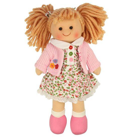 Bigjigs Toys Látková panenka Poppy 25 cm