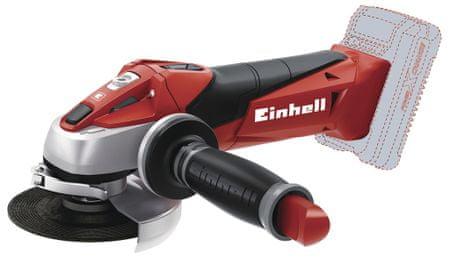 Einhell akumulatorski kotni brusilnik TE-AG 18 Li - Solo, brez baterije in polnilca (4431110)