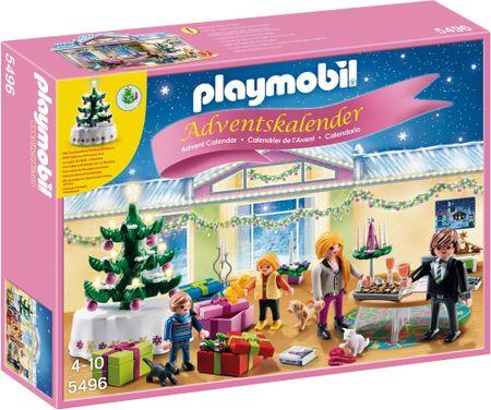 """Playmobil Adventní kalendář """"Vánoční pokoj"""" s překvapením"""