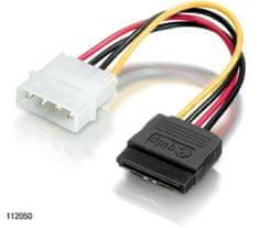 Equip SATA napajalni kabel 5,25 - 0,15m