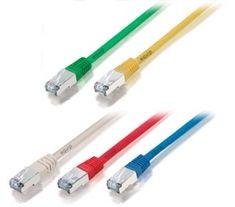 Equip F/UTP C5e Kabel 1,0m bež