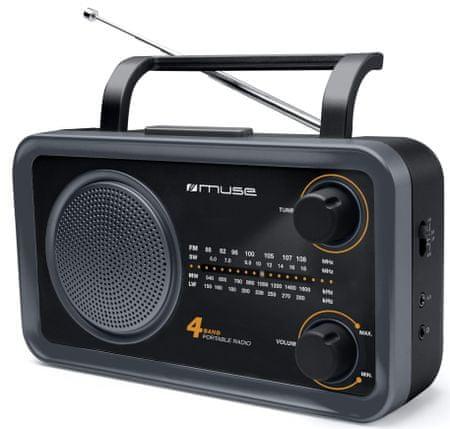 Muse M-05 DS, čierna