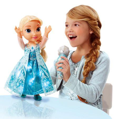 ADC Blackfire Disney Ledové království Zpívající Elsa - karaoke