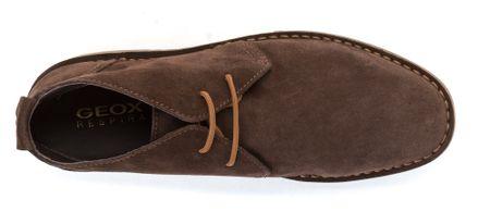 8e39f28f2f Geox pánská kožená kotníčková obuv 43 hnědá - Parametry