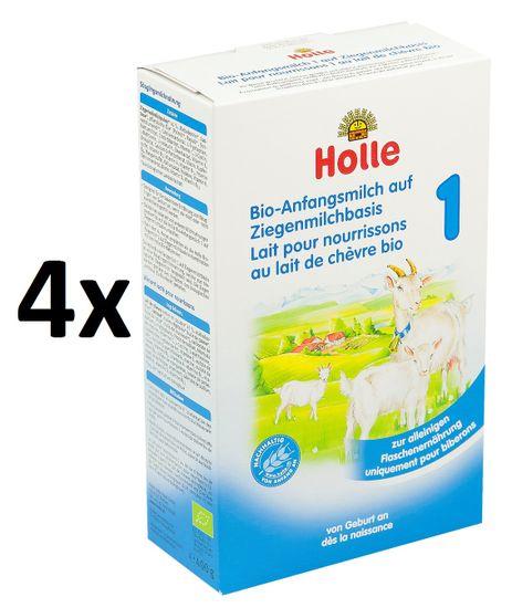 Holle Bio počiatočná detská mliečna výživa na báze kozieho mlieka - 4 x 400g
