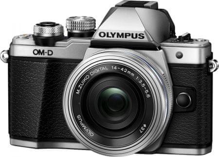 Olympus OM-D E-M10 Mark II Silver + 14-42 EZ
