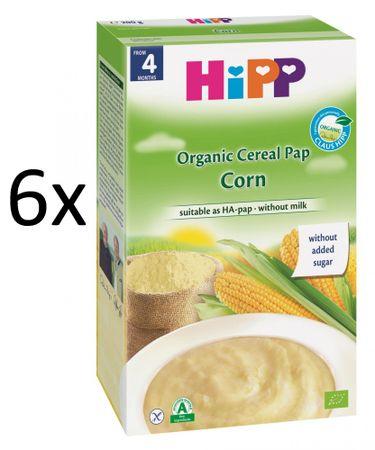 HiPP BIO obilná kaše kukuřičná 6x200g