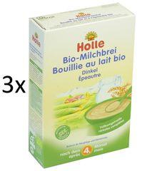 Holle Bio Špaldová mléčná kaše - 3 x 250g