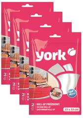 York Feltekerhető vákuum zsák 35x55 cm, 4x2 db