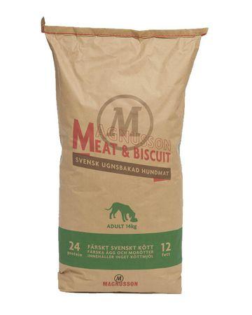 Magnusson sucha karma dla psa Meat&Biscuit ADULT 14 kg