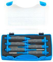 Unior garnitura izbijačev z ročajem v plastični škatli - 641/6HSPB (620066)