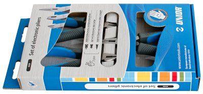 Unior set kliješta za elektroniku u kartonskoj ambalaži - 403B (620963)