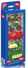 SIKU Sada áut - poľnohospodárske stroje 5 ks