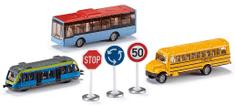 SIKU Set mestské vozidlá + značky