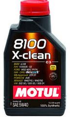 Motul olje 8100 X-Clean C3 5W-40, 5 litrov