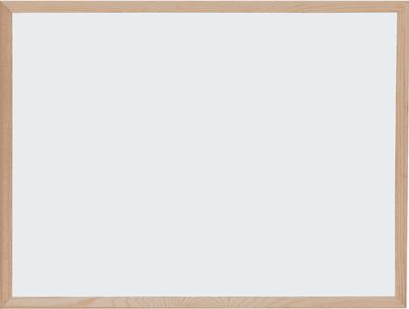 Optima magnetna tabla, 30 x 40 cm, bela, lesen okvir