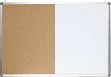 Optima kombinirana tabla pluta/magnet, 90 x 120