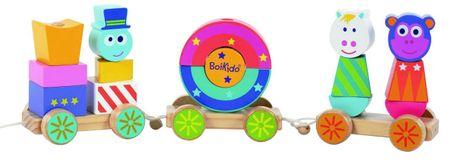 BOIKIDO Boiki-vláčik cirkus