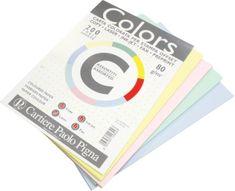 Pigna uredski papir A4, mix pastelnih boja, 200 listova