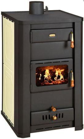 Prity S3 W21 kaminska peč na drva, za etažno ogrevanje
