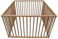 COSING Dřevěná ohrádka 100 × 100 cm, buk