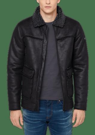 s.Oliver pánská bunda s límečkem XXL černá