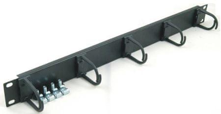 Triton organizator kablov 48 cm 1U, 30 x 35 mm