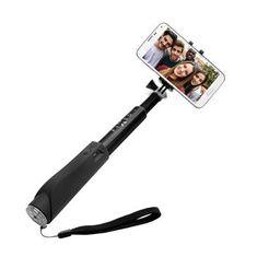 Fixed selfie držák v hliníkovém provedení, černý - zánovní