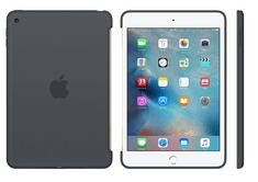Apple silikonski ovitek za iPad mini 4, ogljeno siv