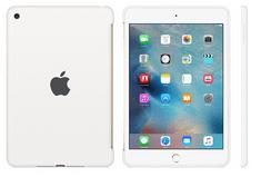 Apple silikonski ovitek za iPad mini 4, bel