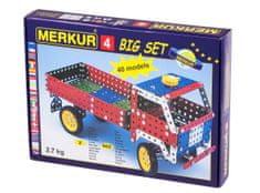 Merkur 4 Építőkészlet, Fém
