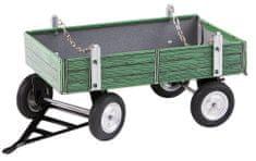 KOVAP Valník zelený kov - rozbalené