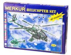 Merkur Helikopter Szett, 40 Modell, 515 db