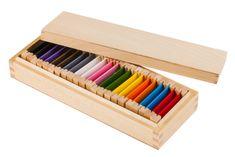 Montessori Barvne plošče 2 - razširjen nabor