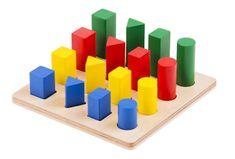 Montessori Rebrík - geometrické telesá