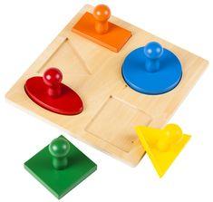 Montessori Puzzle – geometrické tvary