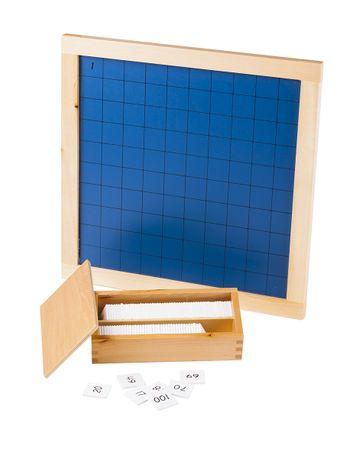 Montessori Százas tábla