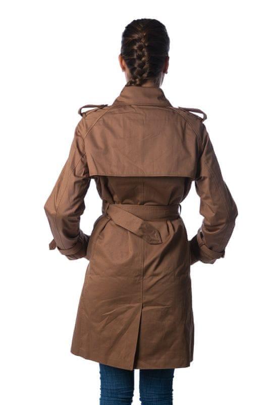 8c48372d9af Gant elegantní dámský kabát XS khaki - Parametry