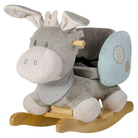 Nattou dječja stolica za ljuljanje magarčić