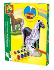 SES Kreativni set Izrađujem od gipsa, Čarobni konji