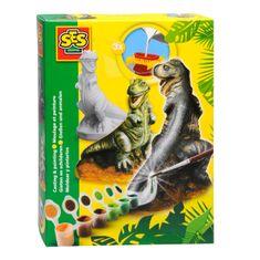 SES Kreatív Gipsz - T-Rex Kreatív játék