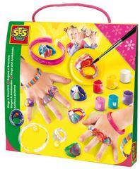 SES Gyűrű és karkötő festő Kreatív játék