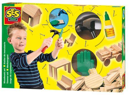 SES Výroba drevených hračiek
